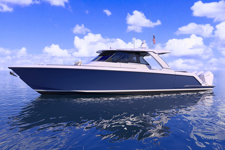 48 LS, Water Eye View, Profile Rendering