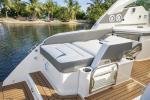 34 LX Port Side Seating - Sunpad Configuration
