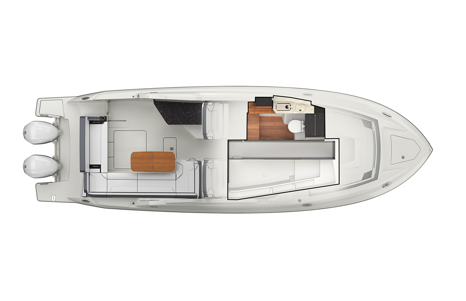 34 LX Interior Plan View